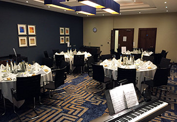 Corporate Dinner Function at Crowne Plaza Hotel, Crawley, West Sussex