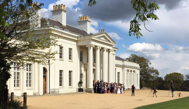 Civil Ceremony at Hylands House, Chelmsford, Essex