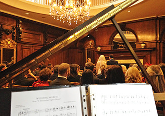 Wedding Pianist Mark Reeves at Skinners Hall, Dowgate Hill, London