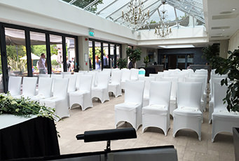 Civil Wedding Ceremony at Wickwoods Country Club, Albourne, West Sussex
