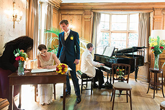 London Wedding Venue -Burgh House, Hampstead, London