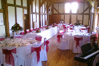 Wedding Breakfast at Loseley Park, Guildford, Surrey
