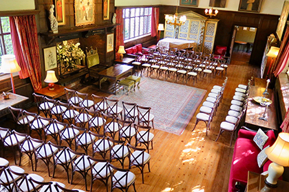 Civil Ceremony and Drinks Reception at Ramster Hall, Chiddingfold, Guildford, Surrey
