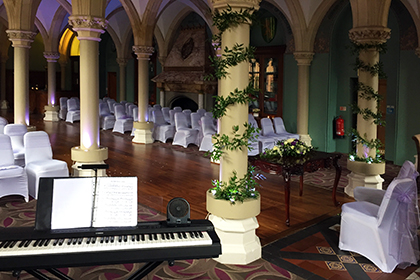 Civil Wedding Ceremony at Wotton House, Dorking, Surrey